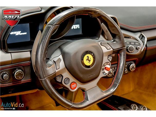 2013 Ferrari 458 SPIDER  (Stk: ) in Oakville - Image 39 of 49