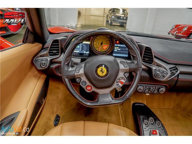 2013 Ferrari 458 SPIDER  (Stk: ) in Oakville - Image 41 of 49