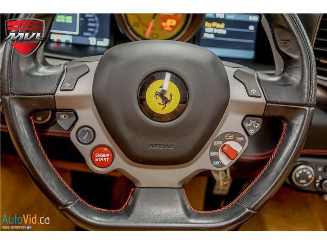 2013 Ferrari 458 SPIDER  (Stk: ) in Oakville - Image 42 of 49