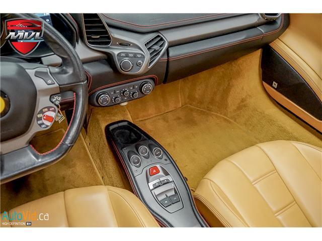 2013 Ferrari 458 SPIDER  (Stk: ) in Oakville - Image 43 of 49