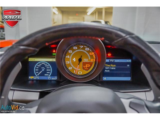 2013 Ferrari 458 SPIDER  (Stk: ) in Oakville - Image 45 of 49