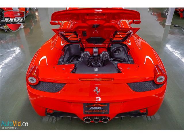 2013 Ferrari 458 SPIDER  (Stk: ) in Oakville - Image 21 of 49