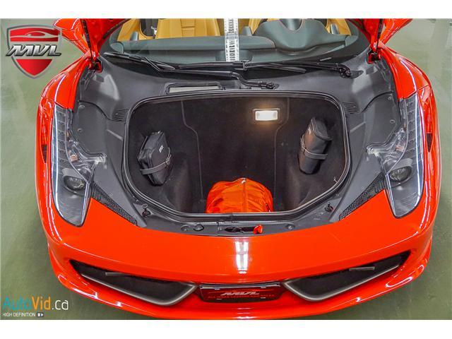 2013 Ferrari 458 SPIDER  (Stk: ) in Oakville - Image 24 of 49