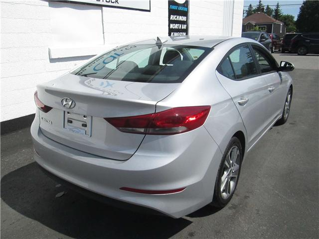 2018 Hyundai Elantra GLS (Stk: 180801) in North Bay - Image 3 of 14