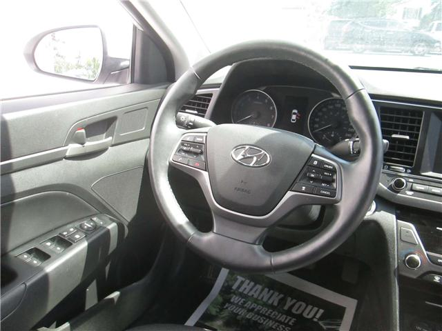 2018 Hyundai Elantra GLS (Stk: 180801) in North Bay - Image 12 of 14