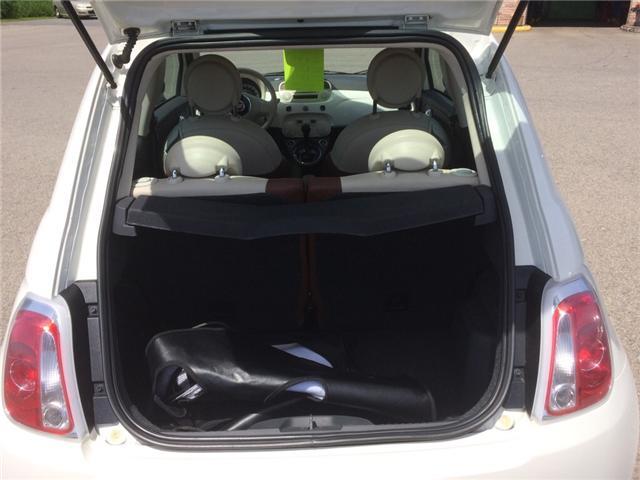 2012 Fiat 500 Lounge (Stk: svg665) in Morrisburg - Image 4 of 5