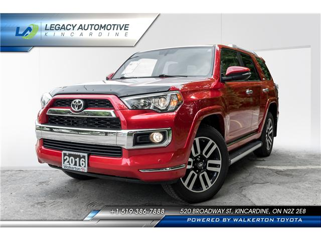 2016 Toyota 4Runner SR5 (Stk: 18250B) in Kincardine - Image 1 of 26