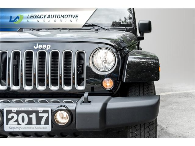 2017 Jeep Wrangler Unlimited Sahara (Stk: P8068) in Kincardine - Image 8 of 20