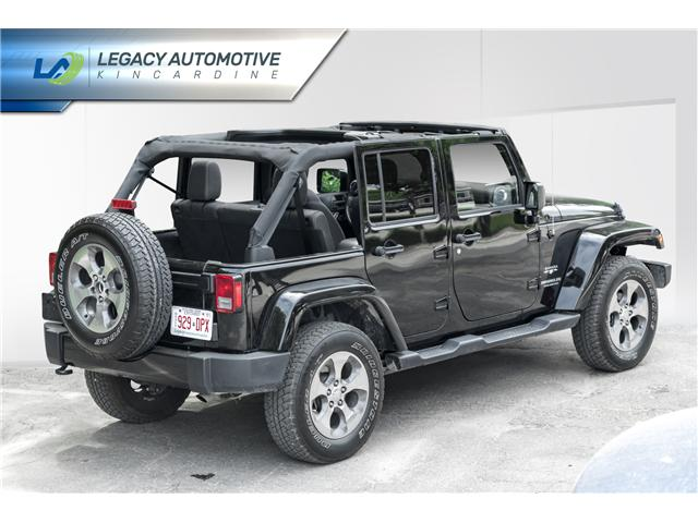2017 Jeep Wrangler Unlimited Sahara (Stk: P8068) in Kincardine - Image 9 of 20