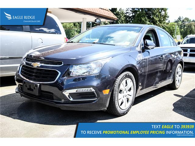 2015 Chevrolet Cruze 1LT (Stk: 154609) in Coquitlam - Image 1 of 6