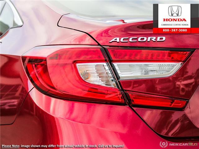 2018 Honda Accord Touring (Stk: 18495) in Cambridge - Image 11 of 24