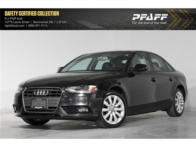 2013 Audi A4 2.0T (Stk: 52835A) in Newmarket - Image 1 of 16