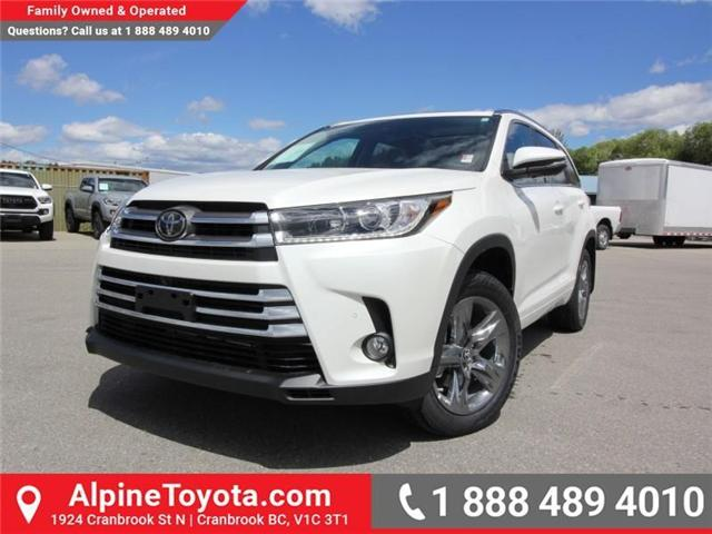2018 Toyota Highlander LE (Stk: S865009) in Cranbrook - Image 1 of 18