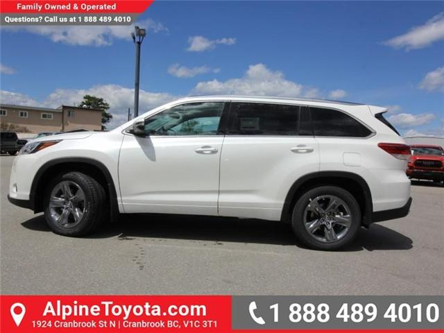 2018 Toyota Highlander LE (Stk: S865009) in Cranbrook - Image 2 of 18