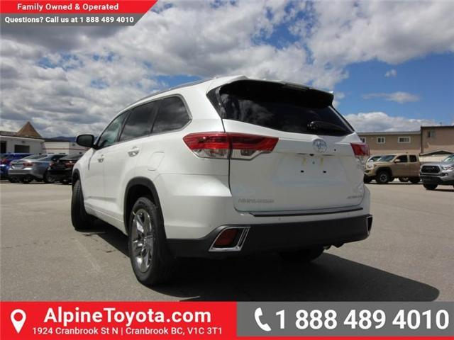 2018 Toyota Highlander LE (Stk: S865009) in Cranbrook - Image 3 of 18