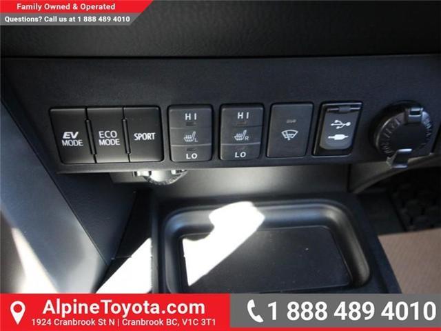 2018 Toyota RAV4 Hybrid LE+ (Stk: D219796) in Cranbrook - Image 13 of 17