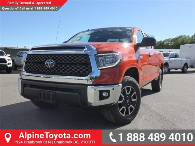 2018 Toyota Tundra  (Stk: X751304) in Cranbrook - Image 1 of 17