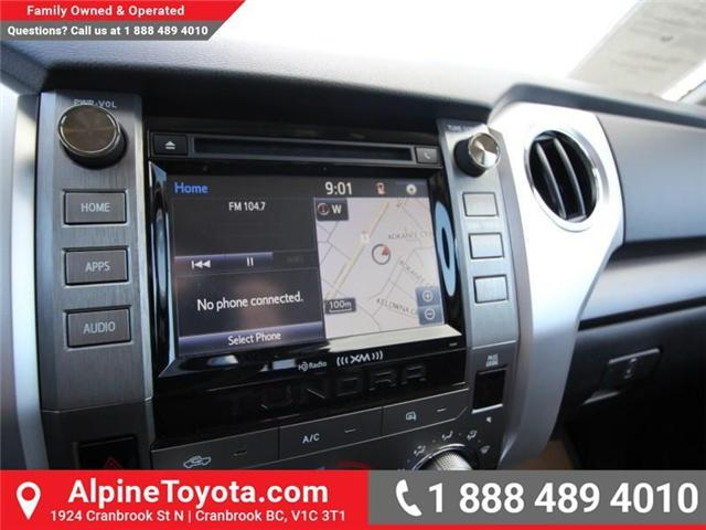 2018 Toyota Tundra  (Stk: X751304) in Cranbrook - Image 12 of 17