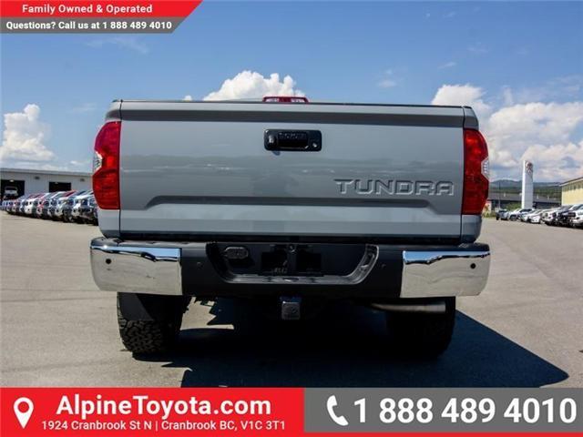 2018 Toyota Tundra  (Stk: X754074) in Cranbrook - Image 4 of 12