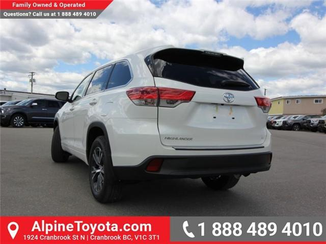 2018 Toyota Highlander LE (Stk: S270998) in Cranbrook - Image 3 of 15