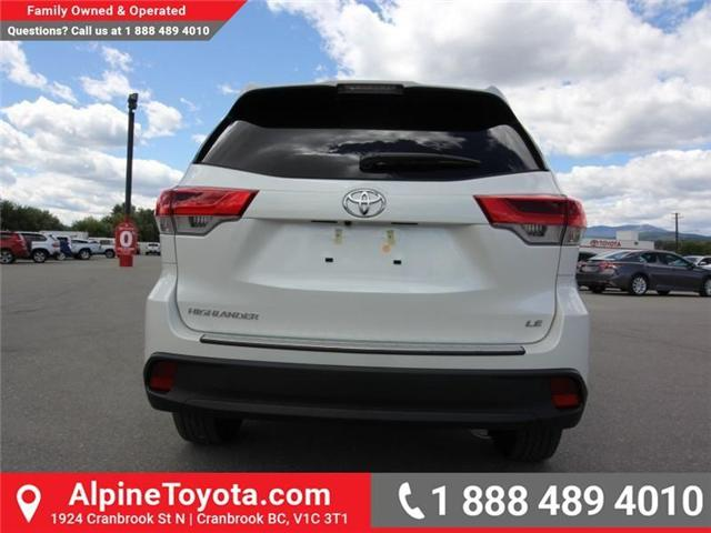 2018 Toyota Highlander LE (Stk: S270998) in Cranbrook - Image 4 of 15