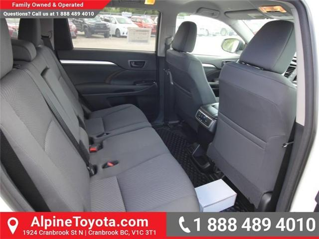 2018 Toyota Highlander LE (Stk: S270998) in Cranbrook - Image 11 of 15