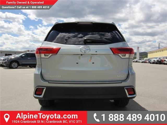 2018 Toyota Highlander  (Stk: S551488) in Cranbrook - Image 4 of 17