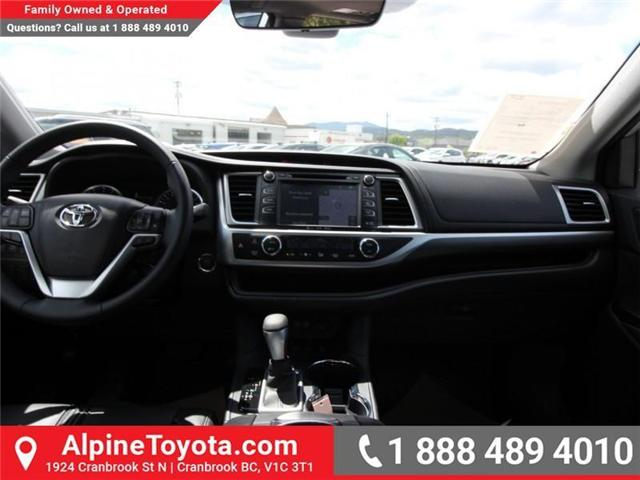 2018 Toyota Highlander  (Stk: S551488) in Cranbrook - Image 10 of 17