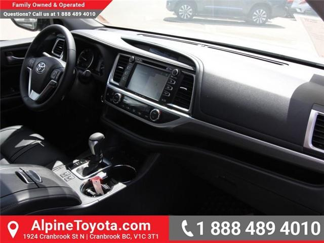 2018 Toyota Highlander  (Stk: S551488) in Cranbrook - Image 11 of 17