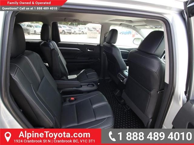 2018 Toyota Highlander  (Stk: S551488) in Cranbrook - Image 12 of 17