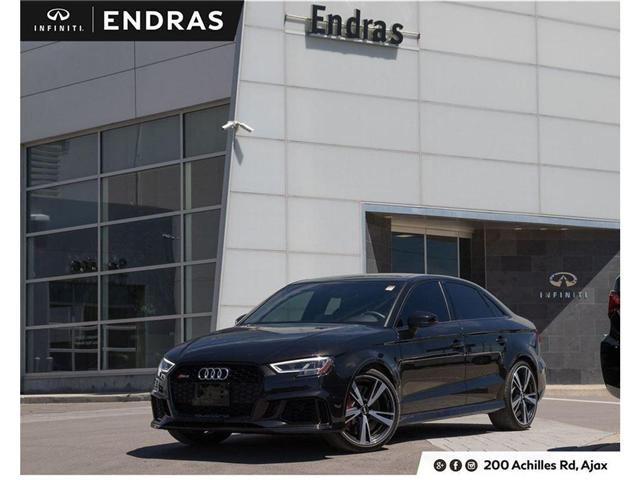 2018 Audi RS 3 2.5T (Stk: 60502A) in Ajax - Image 1 of 30
