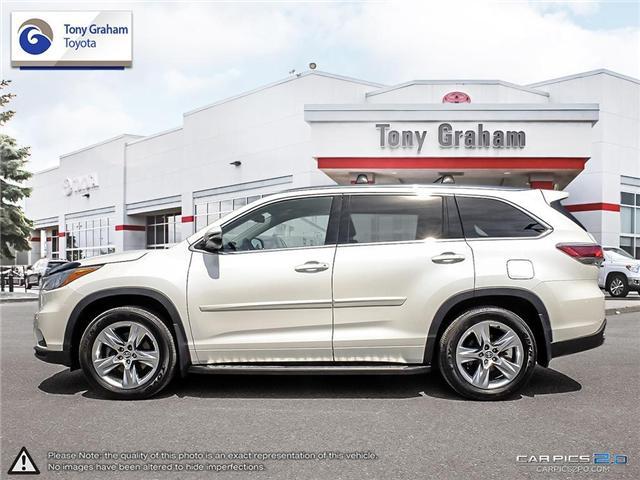 2016 Toyota Highlander Limited (Stk: E7542) in Ottawa - Image 2 of 25