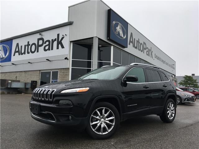 2017 Jeep Cherokee Limited (Stk: 17-22579RMB) in Barrie - Image 1 of 30