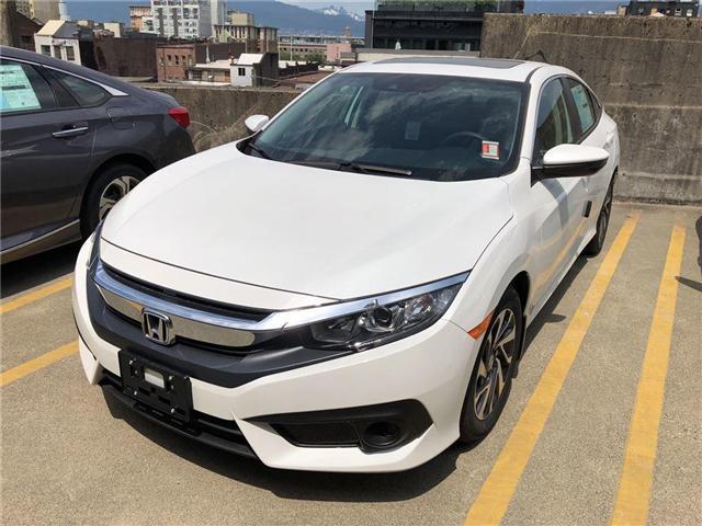 2018 Honda Civic EX (Stk: 3J88430) in Vancouver - Image 1 of 4