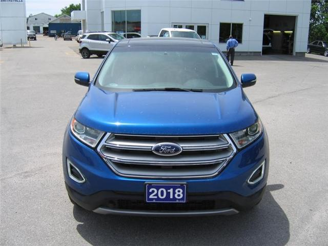2018 Ford Edge SEL (Stk: 18182) in Smiths Falls - Image 2 of 12