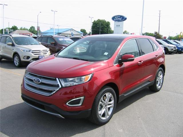 2018 Ford Edge Titanium (Stk: 18392) in Perth - Image 1 of 12