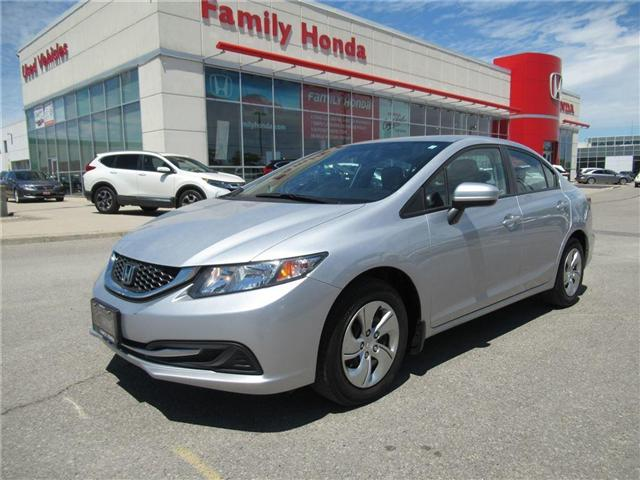 2015 Honda Civic LX, LOW KMS, ECO MODE! (Stk: 8010387A) in Brampton - Image 1 of 26