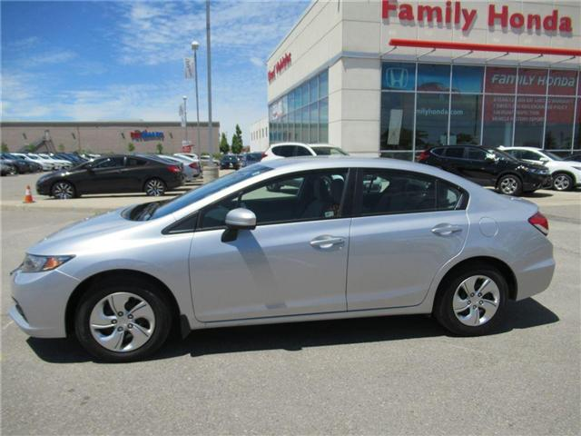 2015 Honda Civic LX, LOW KMS, ECO MODE! (Stk: 8010387A) in Brampton - Image 2 of 26