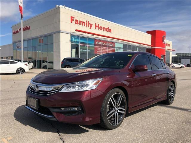 2016 Honda Accord Touring V6, FULLY LOADED! (Stk: 8502106A) in Brampton - Image 1 of 25