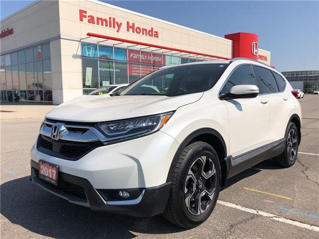 2017 Honda CR-V Touring, FREE EXTENDED WARRANTY! (Stk: U03201) in Brampton - Image 1 of 14