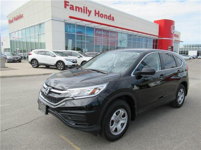 2016 Honda CR-V LX, LOW KMS! BACK UP CAM (Stk: 8002181A) in Brampton - Image 1 of 26
