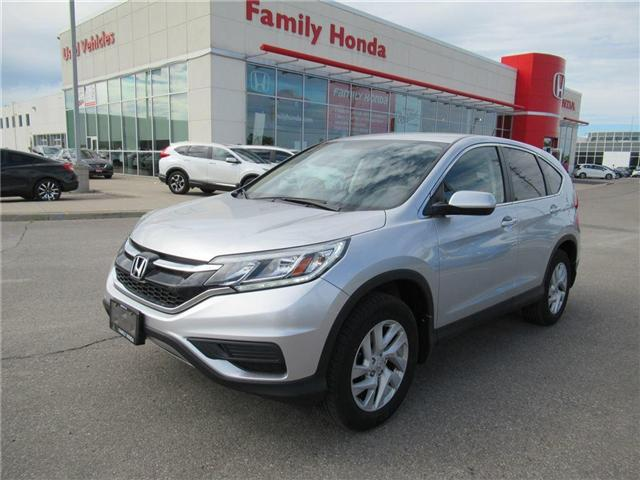 2015 Honda CR-V SE, FREE COMPREHENSIVE WARRANTY! (Stk: 8131483A) in Brampton - Image 1 of 26
