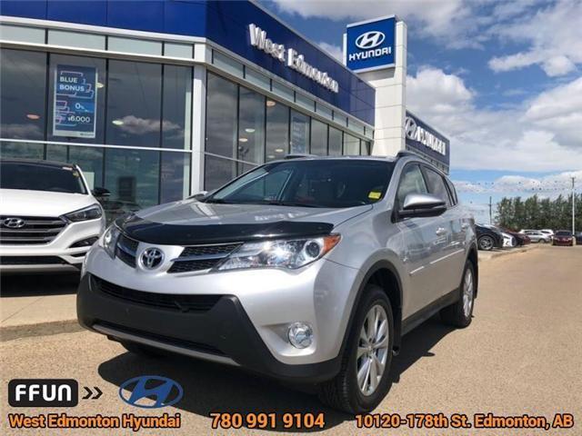 2015 Toyota RAV4 Limited (Stk: 81982A) in Edmonton - Image 1 of 22