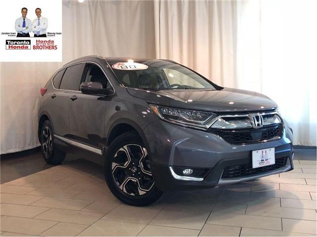 2017 Honda CR-V TOURING | NAVIGATION | SUNROOF | LEATHER | ALLOYS (Stk: 37404) in Toronto - Image 1 of 28