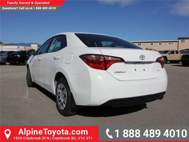 2019 Toyota Corolla LE Upgrade Package (Stk: C126969) in Cranbrook - Image 3 of 16