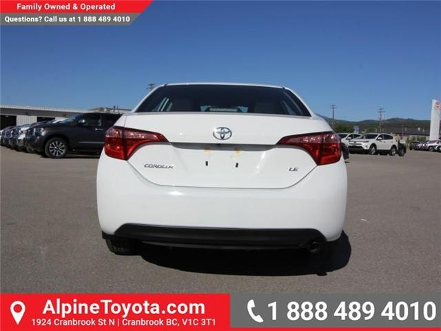2019 Toyota Corolla LE Upgrade Package (Stk: C126969) in Cranbrook - Image 4 of 16