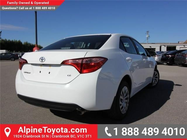 2019 Toyota Corolla LE Upgrade Package (Stk: C126969) in Cranbrook - Image 5 of 16