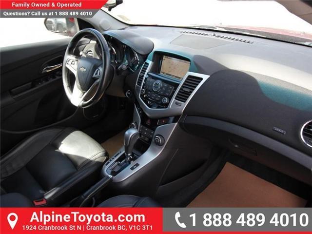2014 Chevrolet Cruze 2LT (Stk: X728603C) in Cranbrook - Image 11 of 16