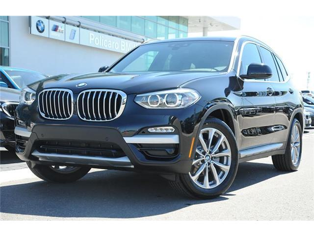 2018 BMW X3 xDrive30i (Stk: 8D70244) in Brampton - Image 1 of 12