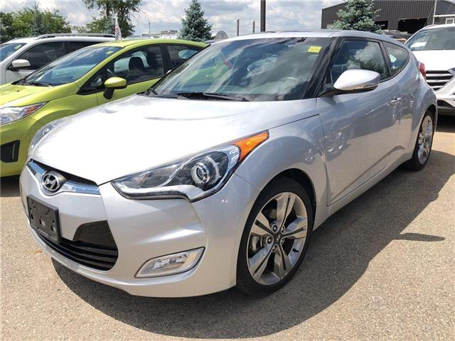 2016 Hyundai Veloster  (Stk: HD16158) in Woodstock - Image 1 of 11
